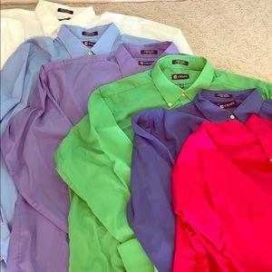 Chaps Shirt Lot